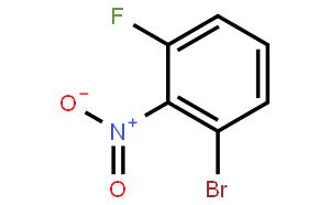 Benzene,1-bromo-3-fluoro-2-nitro-