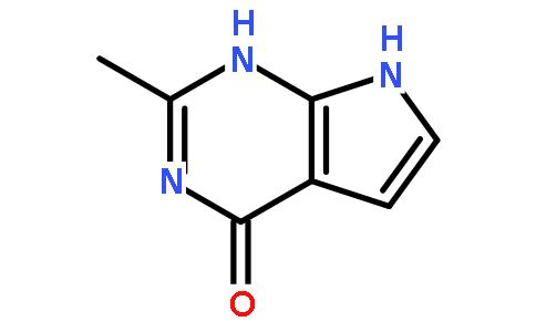 2-甲基-1H-吡咯并[2,3-d]嘧啶-4(7H)-酮