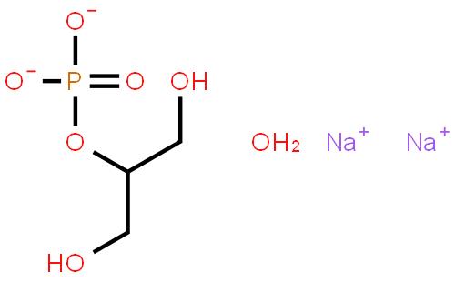 beta-甘油磷酸钠(五水)结构式图片