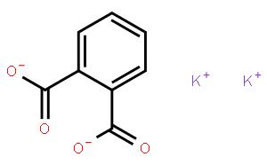 邻苯二甲酸氢钾(CAS:877-24-7)结构式图片