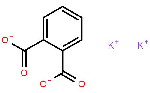 邻苯二甲酸氢钾结构式