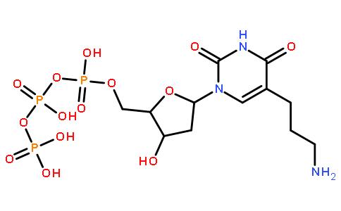 ((2R,3S,5R)-5-(5-(3-氨基丙基)-2,4-二氧代-3,4-二氢嘧啶-1(2H)-基)-3-羟基四氢呋喃-2-基)甲基三磷酸