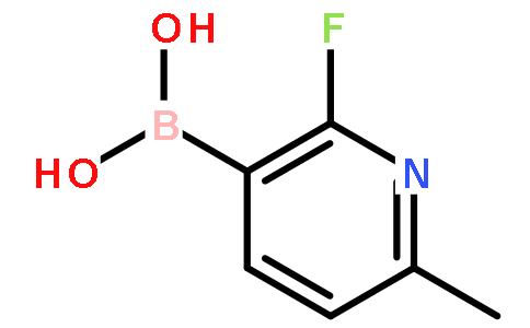 2-氟-6-甲基吡啶-3-硼酸