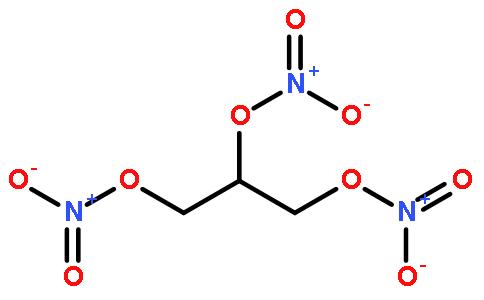 硝酸甘油结构式图片