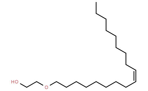 聚氧乙烯10油醚结构式