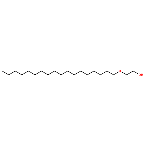 聚乙二醇十八醇醚结构式