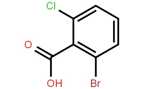 2-溴-6-氯苯甲酸结构式