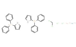 [1,1'-双(二苯基膦)二茂铁]二氯化钯二氯甲烷络合物