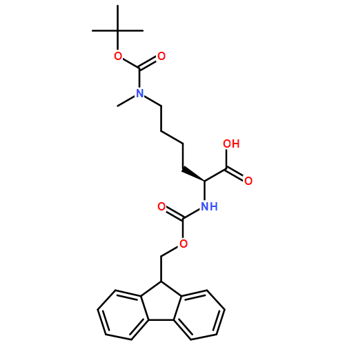 fmoc保护氨基酸(cas:956195-85-5) 结构式图片