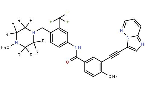 ponatinib d8结构式