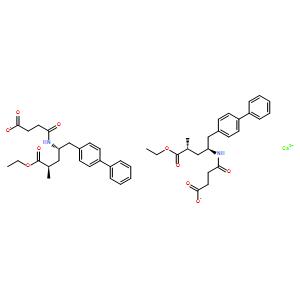 (alphaR,gammaS)-gamma-[(3-Carboxy-1-oxopropyl)amino]-alpha-methyl-[1,1'-biphenyl]-4-pentanoic acid 4-ethyl ester calcium salt (2:1)