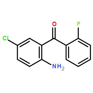 (2-Amino-5-chlorophenyl)(2-fluorophenyl)methanone