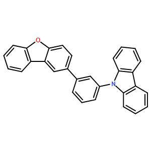 9-[3-(Dibenzo[b,d]furan-2-yl)phenyl]-9H-carbazole