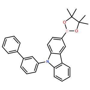 9-(Biphenyl-3-yl)-3-(4,4,5,5-tetraMethyl-1,3,2-dioxaborolan-2-yl)-9H-carbazole