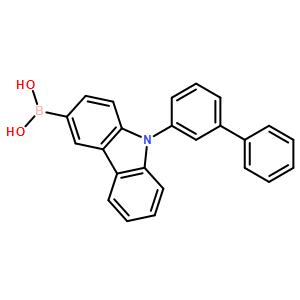9-(biphenyl-3-yl)-carbazol-3-yl boronic acid