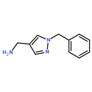 c-(1-benzyl-1h-pyrazol-4-yl)-methylamine hydrochloride