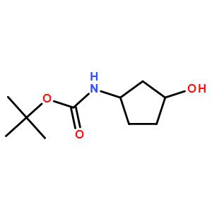 cis-tert-Butyl 3-hydroxycyclopentylcarbamate