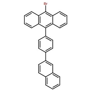 9-bromo-10-[4-(2-naphthalenyl)phenyl]Anthracene