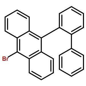 Anthracene, 9-[1,1-biphenyl]-2-yl-10-bromo-