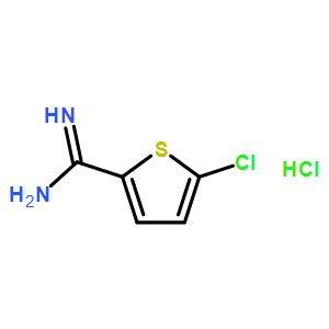 5-Chlorothiophene-2-carboximidamide hydrochloride