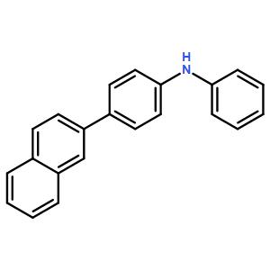 Benzenamine, 4-(2-naphthalenyl)-N-phenyl-