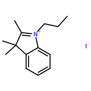 2,3,3-trimethyl-1-propyl-3H-indol-1-ium iodide