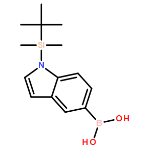 (1-(tert-butyldimethylsilyl)-1H-indol-5-yl)boronic acid