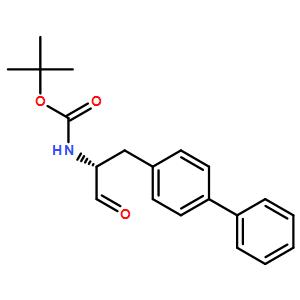 ((R)-2-biphenyl-4-yl-1-formylethyl)carbamic acid t-butyl ester