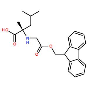 Fmoc-(S)-2-amino-2,4-dimethylpentanoicacid