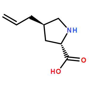 (2S,4R)-4-allylpyrrolidine-2-carboxylicacid  HCl