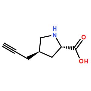 (2S,4R)-4-(prop-2-ynyl)pyrrolidine-2-carboxylicacid
