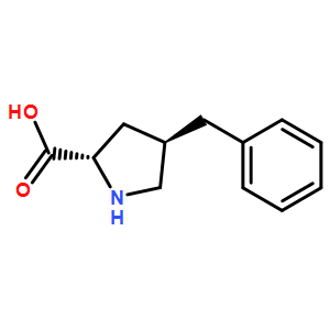 (2S,4R)-4-benzylpyrrolidine-2-carboxylicacid  HCl