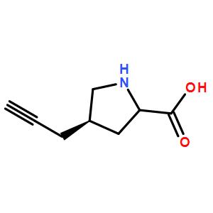 (2S,4R)-4-(prop-2-ynyl)pyrrolidine-2-carboxylicacid  HCl