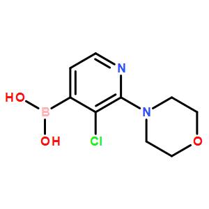 5-Chloro-2-fluoropyridine-4-boronicacid