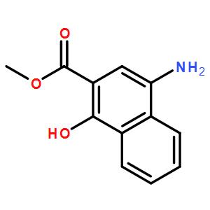 Methyl 4-amino-1-hydroxynaphthalene-2-carboxylate