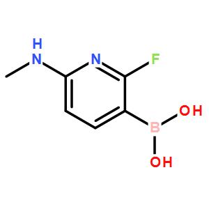 B-[6-(dimethylamino)-2-fluoro-3-pyridinyl]-Boronic acid