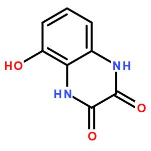 1,4-dihydro-5-hydroxy-2,3-Quinoxalinedione