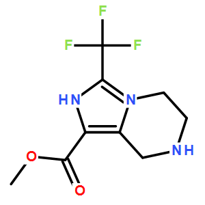 methyl 3-(trifluoromethyl)-5,6,7,8-tetrahydroimidazo[1,5-a]pyrazine-1-carboxylate