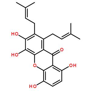1,4,5,6-四羟基-7,8-异戊烯基占吨酮