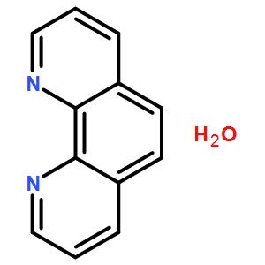 邻菲罗啉,1,10-邻二氮杂菲一水合物;邻菲咯啉 一水合物;1,10-菲罗啉