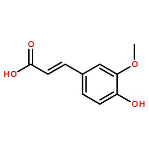 反-4-羟基-3-甲氧基肉桂酸